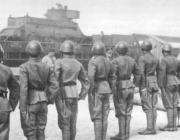 Екіпаж імпровізованого бронепоїзда ОД «Орел»