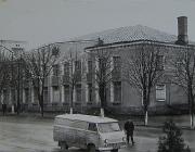 Будинок Овруцької райспоживспілки.