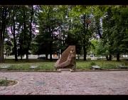 Меморіал памя\'ті воїнів загинувшим за визволення Овруча від німецько-фашистських загарбників.