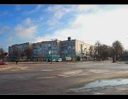 Перехрестя вул. Радянської та вул. Сабурова
