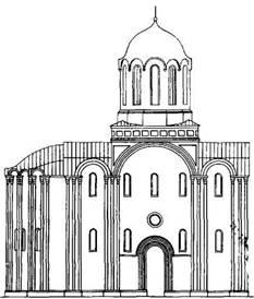 Рис. 125. Проект реставрации неизвестного автора (XIX в.)