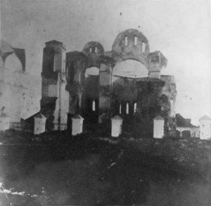 Руїни храму. Овруч 1821 р.