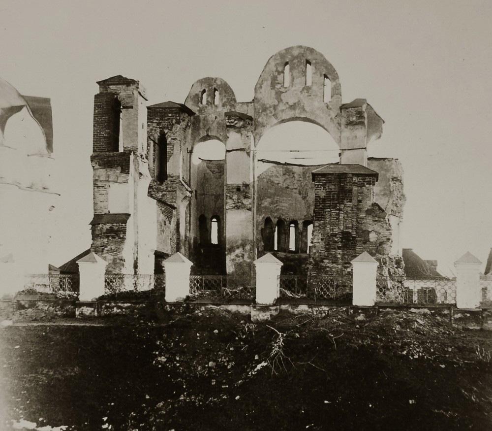 Развалины церкви св. Василія въ Овручѣ, Волынской губ.