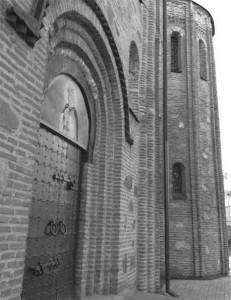 Рис. 1. Стіни храму Святого Василія ХІІ ст. в м. Овруч