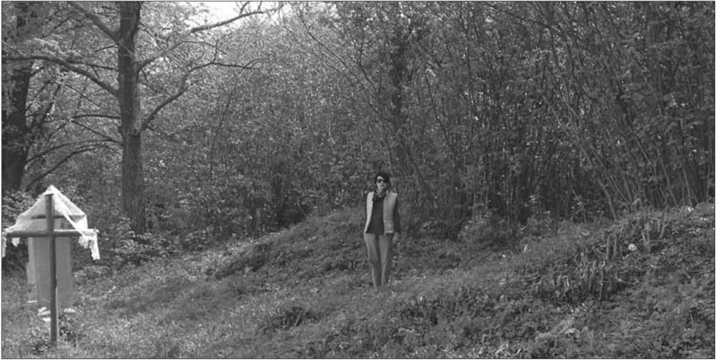 Рис. 5. Курган Х ст. поблизу городища селища Норинськ, яке, за археологічними даними, функціонувало з Х по ХVІІІ ст.
