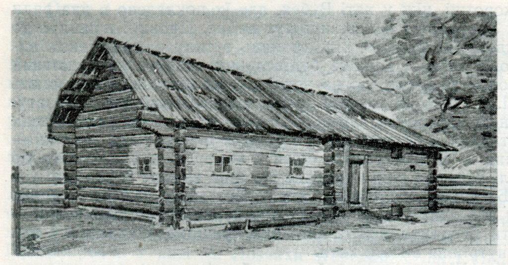 Село Собичин. Хата селянина Богданця. Зовнішній вигляд.